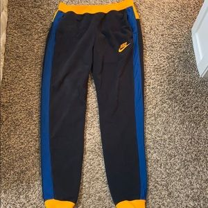Nike black fleece pant